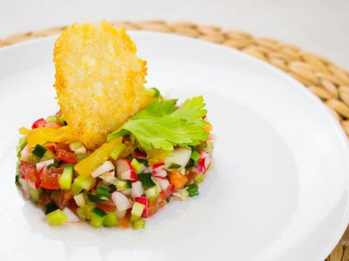 Tartare de légumes frais